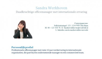 Sandra Werkhoven